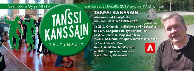 Tanssi Kanssain Paikkakunnat